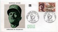 Enveloppe FDC 1er Jour - Général LECLERC Maréchal de France - Strasbourg 1969