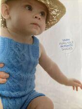Harmony Playsuit Baby Knitting Pattern