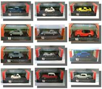 1:43 Model Cars, Partworks Ixo, Norev, Road signature, Atlas. Diecast Metal