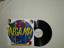 "Snap! – Snap! Mega Mix  - Disco 12"" MAXI 45 Giri Vinile UK 1991 House DownBeat"