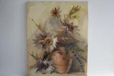Tableau peinture a l'huile sur toile Grimani Beppe Chardons (49185)