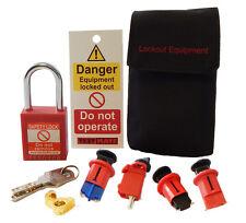 Testmate Safe Isolation Lock Off Kit 3 **NEW**