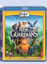 RISE OF THE GUARDIANS 3D NEW SEALED UK STOCK STUNNING ANIMATED KIDS MOVIE