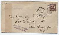 1923 Caldwell NJ first day 12ct 4th bureau #564 Grover Cleveland [y3647]