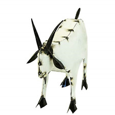 Rustic Arrow Goat-Medium Garden Statue, Multi
