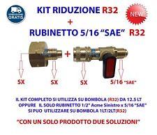 RIDUZIONE R32 + RUBINETTO R32