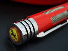OFFICIAL FERRARI MARANELLO RACING ROLLER PEN w/ KEY RING SET (RED)