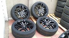 "New Genuine Range Rover Sport L494 22"" STYLE 17  508 Black Alloy Wheels & Tyres"