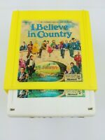 I Believe in Country 8 Track Tapes Vintage Volume 1 2 & 3 with Case & Book Rare