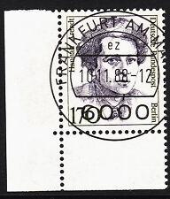 32) Berlin 170 Pf. Frauen  826 Eckrand Ecke 3 E3 EST Frankfurt m Gummi Perfekt