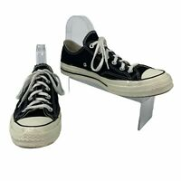 Converse All Star Sneakers Men's Size 8 Black & White Low Top Chuck Taylor Shoes