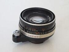 "Carl Zeiss Jena 50mm f:2 Pancolar Exakta mount lens US SELLER ""LQQK"""
