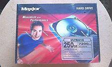 Maxtor DiamondMax Ultra16 250GB IDE/ATA L01R250-R6L6 Brand NewShrinkWrapped Box