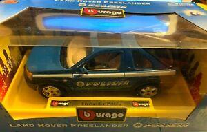 Land Rover Freelander Polizia di Stato - Burago 16365 scala 1/24 - Nuova in Box