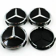 Neu 75mm Nabendeckel Nabenkappen Emblem Felgendeckel für Mercedes4 Stück Benz