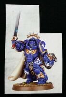 40K Primaris Captain in Gravis Armor Warhammer Dark Imperium Space Marines