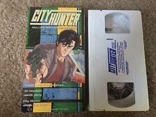 City Hunter: Million Dollar Conspiracy / anime on VHS