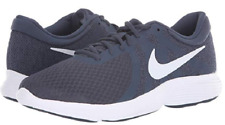 Nike Revolution 4 Casual Shoes Thunder Blue Gray 908988-402 Men's NEW