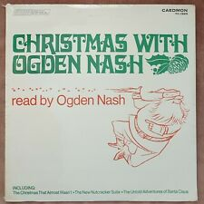 SEALED! CHRISTMAS WITH OGDEN NASH stories & poems read by the author LP record