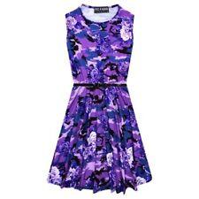 Robes violette pour fille de 7 à 8 ans