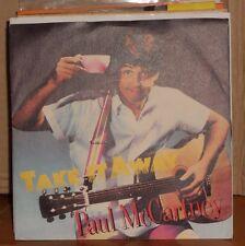 PAUL MC CARTNEY - TAKE IT AWAY - I'LL GIVE YOU A RING - vinile 45 giri 1982