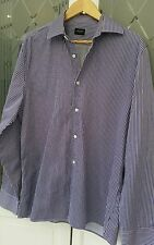 Medium Size 16 Collar Jaeger Mens Casual Striped Shirt bought for £75