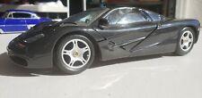 Maisto 1:18 Mclaren F1 1993  Diecast Car Model, Black & Badass