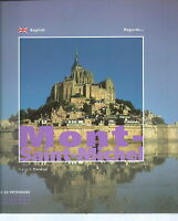NK-025 - Gerard Dalmaz, Mont-Saint-Michel Castle Book Illustrated 2008