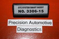 No. 3306-15 OTC Genisys 4000-Enhanced Monitor Elite Scanner Scan Tool Insert SSI