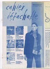 Veste non doublée, en Tweed & 10 ouvrages. 10/2003,Vintage. Neuf non découpé.