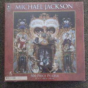 """Michael Jackson """"Dangerous"""" Album Cover - 500 Piece Puzzle 1991 Album Cover"""