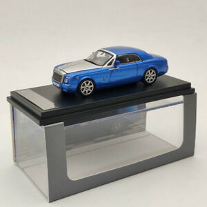 1:64 Rolls-Royce Phantom Coupe DC8801 Blue Diecast Models Limited Collection