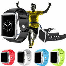 Waterproof Bluetooth Smart Wrist Watch Phone Mate For iPhone Android Samsung HTC