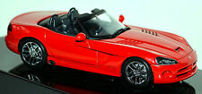 Dodge Viper SRT-10 Roadster Cabriolet 2003-10 Red Red 1:43 Autoart