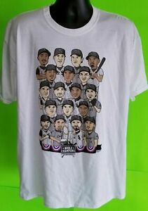 Chicago White Sox TShirt 2005 World Series Champs Caricature White Cotton Tee