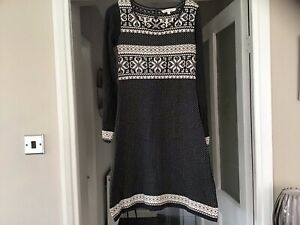 Fat Face Size 10 Knitted Dress