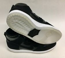 NIKE SB ZOOM DUNK HIGH PRO 854851-001  BLACK WHITE CLEAR MENS SIZE 9.5