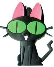 Trigun Kuro Neko Black Cat PVC Key Chain NEW