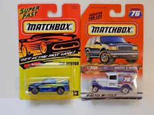 MATCHBOX TOY SHOW MODEL A FORD SPECIAL EDITION AND THE BUSTER