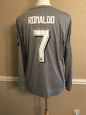Real Madrid Player Issue Adizero Ronaldo Juventus Football Shirt Soccer Jersey