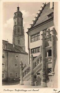 Postcard Ephemera Nördlingen Germany DEU