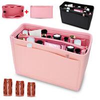 Felt Purse Handbag Organizer Insert Multi pocket Storage Tote Shaper Liner Bag