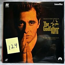 The Godfather Part Iii (Laserdisc, 1991) Final Directors Cut Digital Sound New