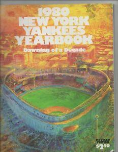1980 NEW YORK YANKEES YEARBOOK