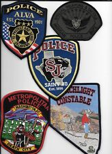 Clearance:  Misc. Departments - 5 Patch Set - # 35 shoulder police patch (fire)