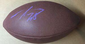 Adrian Peterson Signed Wilson Football Minnesota Vikings