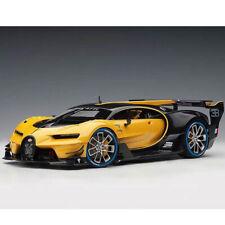 AUTOart 70989 Bugatti Vision Gran Turismo 1:18 Giallo Midas with Black Carbon