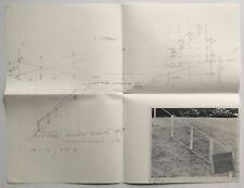 JAN DIBBETS - PERSPECTIVE CORRECTION 1970 Artists & Photographs nauman lewitt