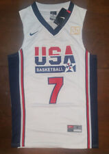 92b4945bf09e New with Tags - Larry Bird - Dream Team USA   7 White - Men s Jersey