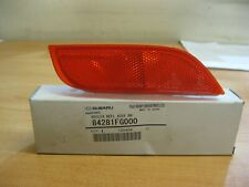 Genuine OEM Subaru Impreza Right Rear Bumper Reflector 2008-2016 (84281FG000)